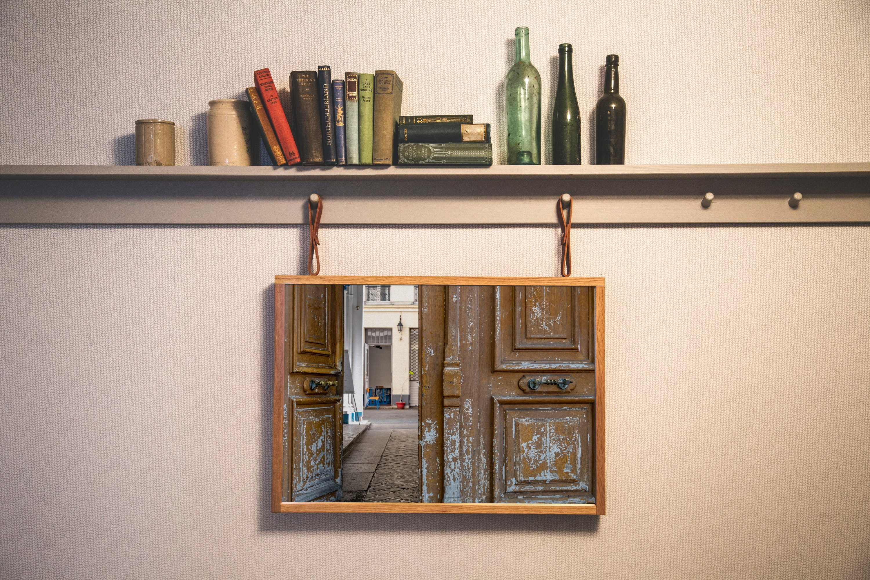 Paris door wall art set of 24 photos. Vintage wooden doors example image 7