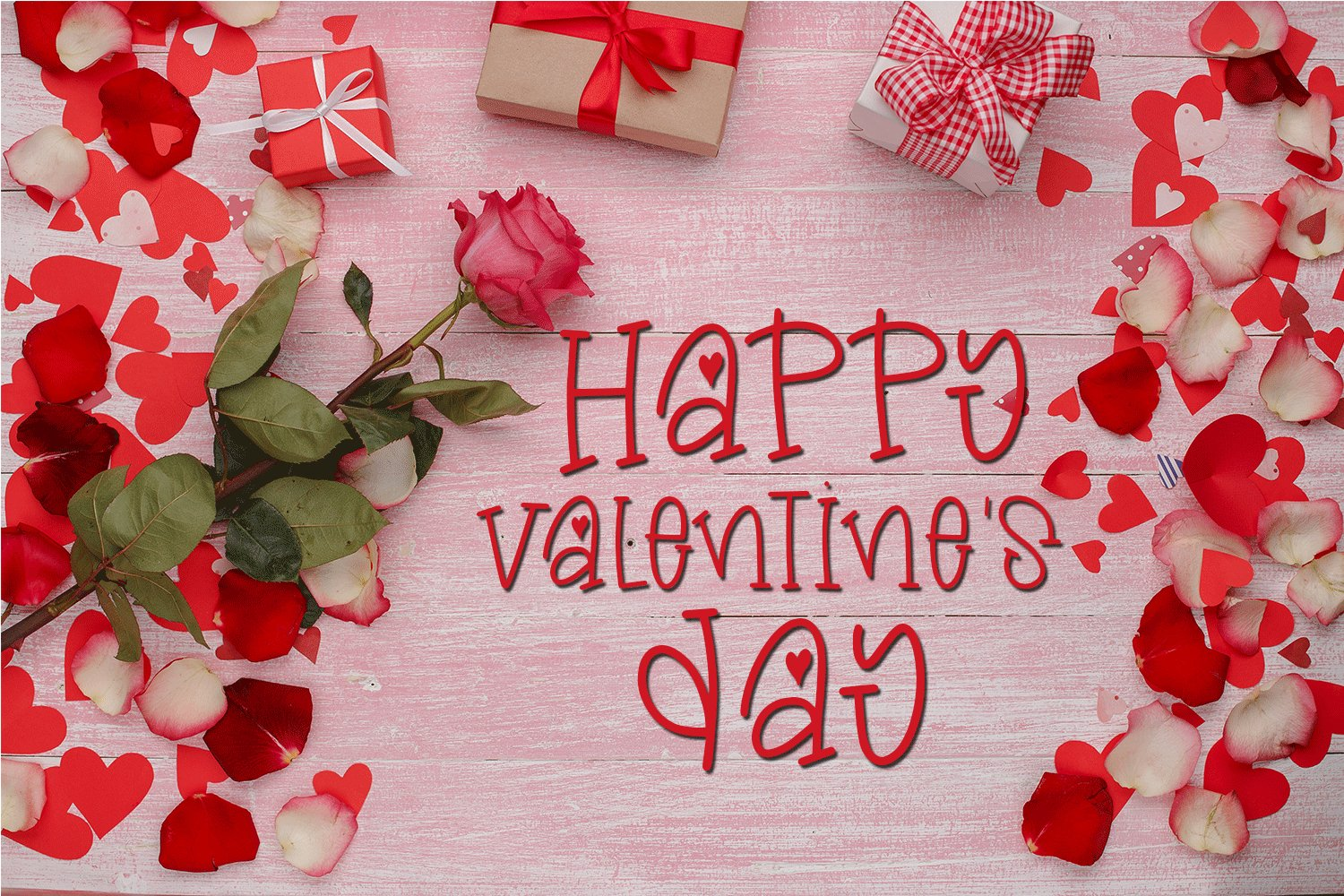 Valentine's Day Font - Miss Valentina example image 2