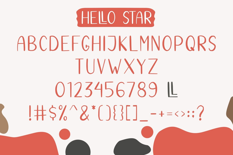 Hello Star | EXTRA SHAPES example image 9