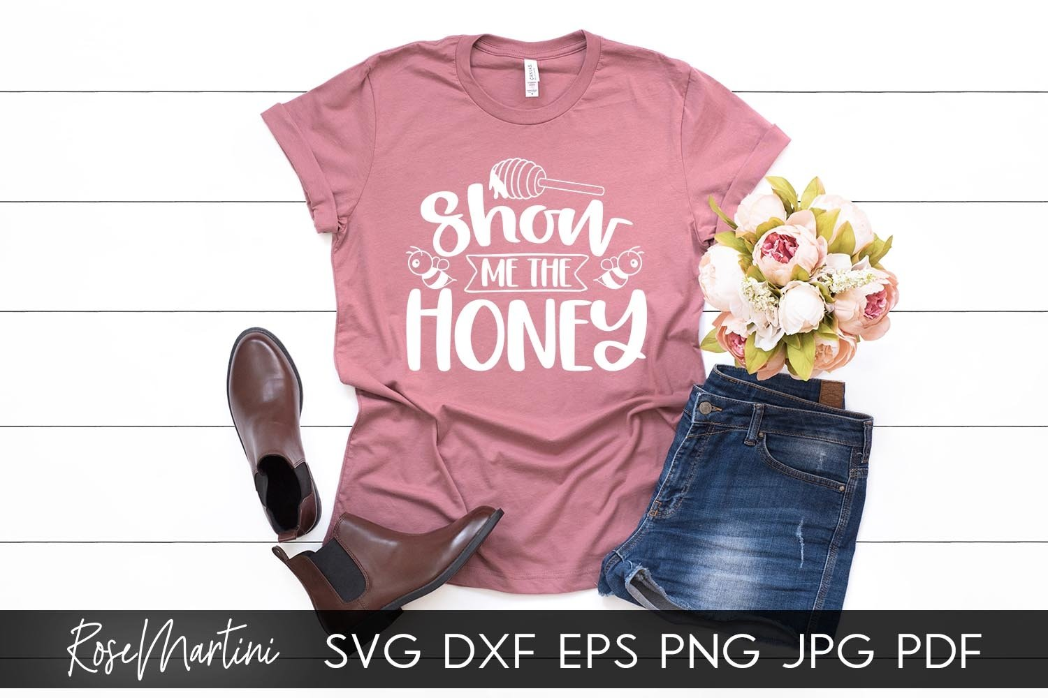 Show Me The Honey SVG Queen Bee SVG Bee Pun Bumble Bee SVG example image 4