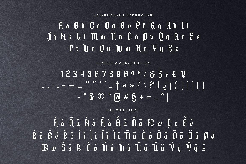 Needle Master Display Font example image 5