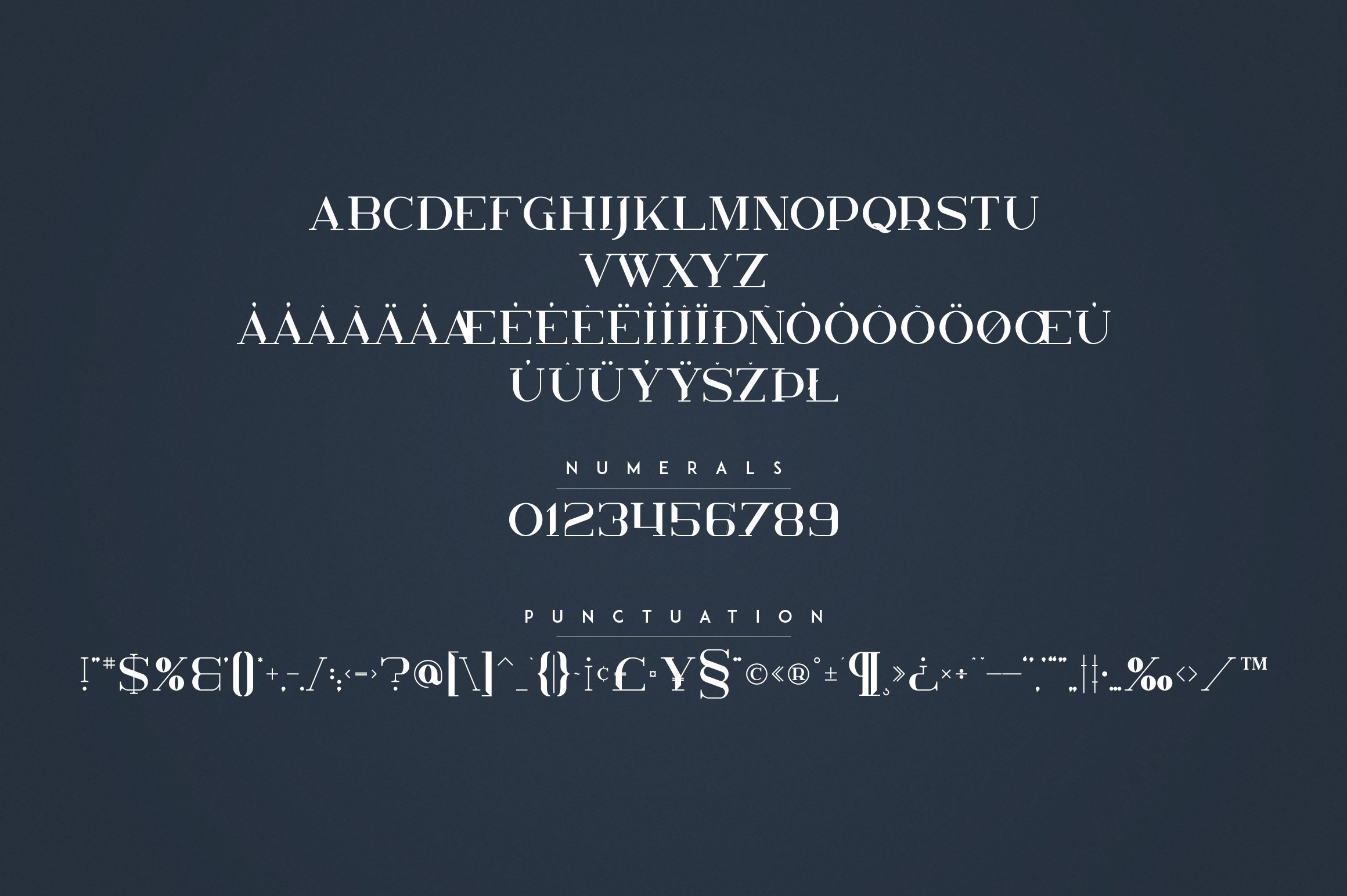 Kavo Family - 17 fonts 24 logos example image 21