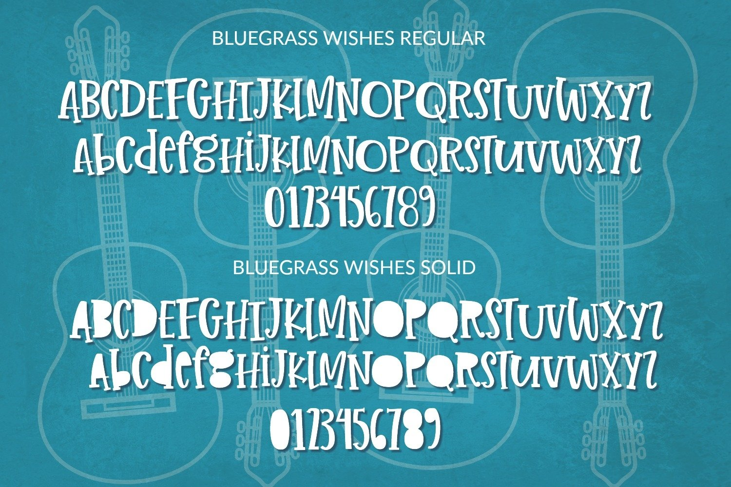 Bluegrass Wishes | Crafter Friendly Font example image 2
