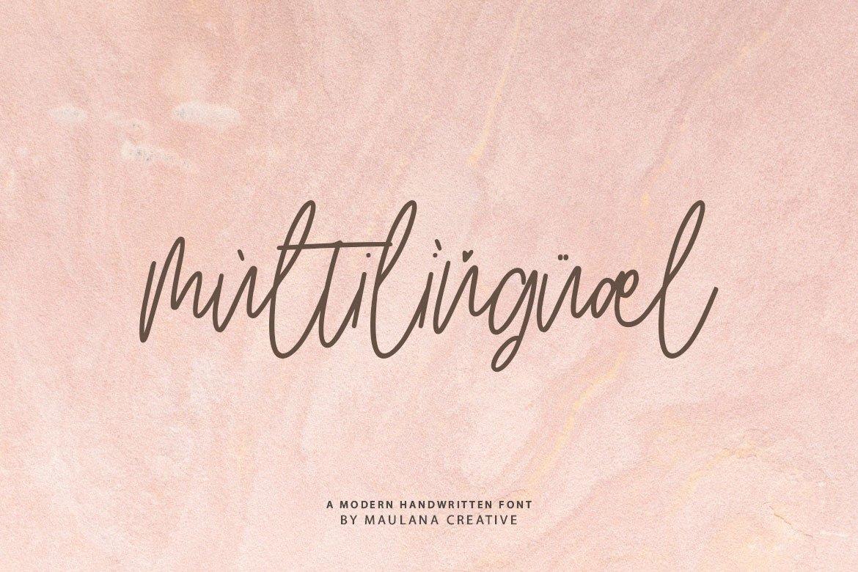 Artlines - Modern Handwritten Font example image 8