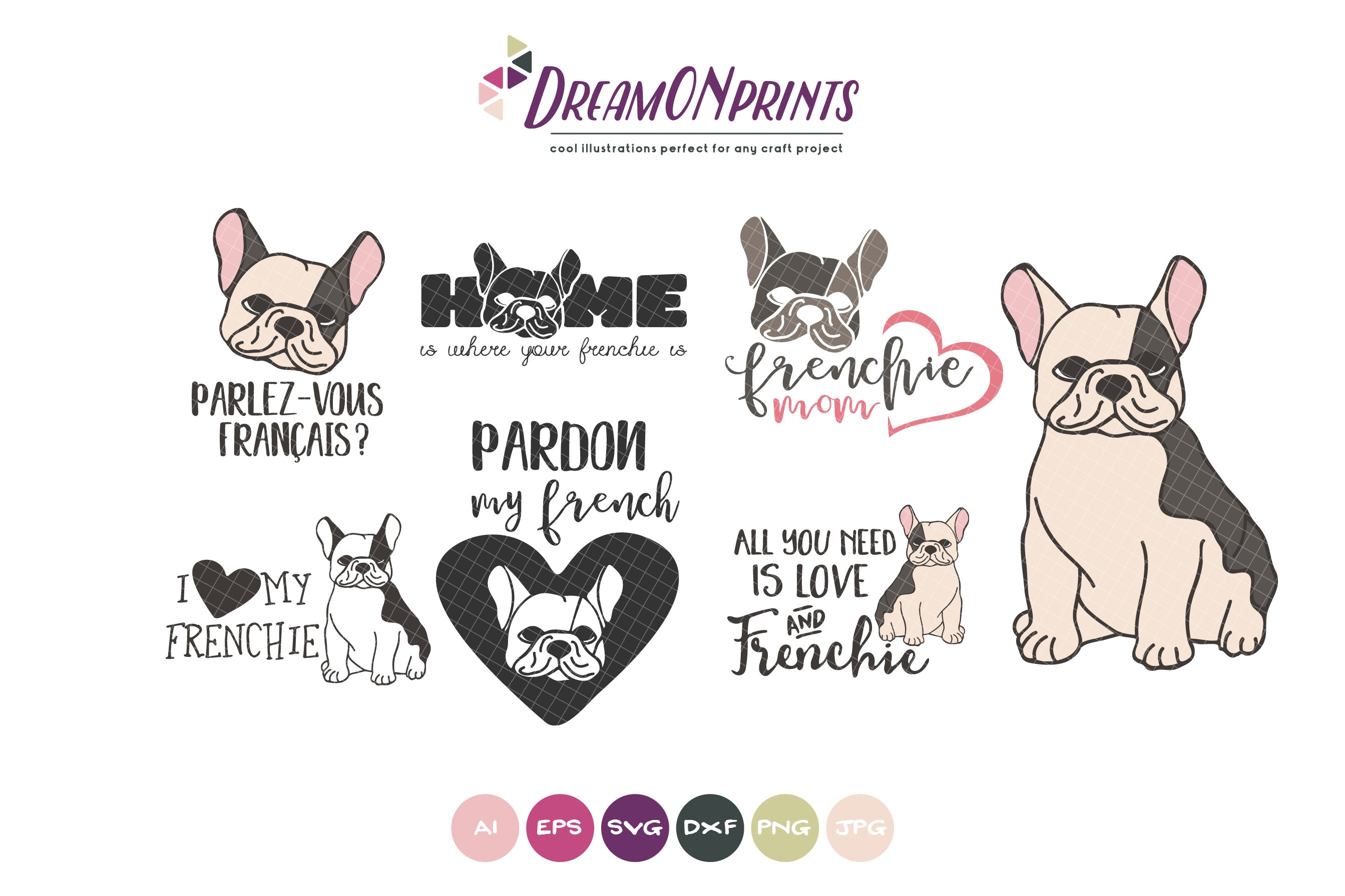 45 Frenchie Svg Free Pictures