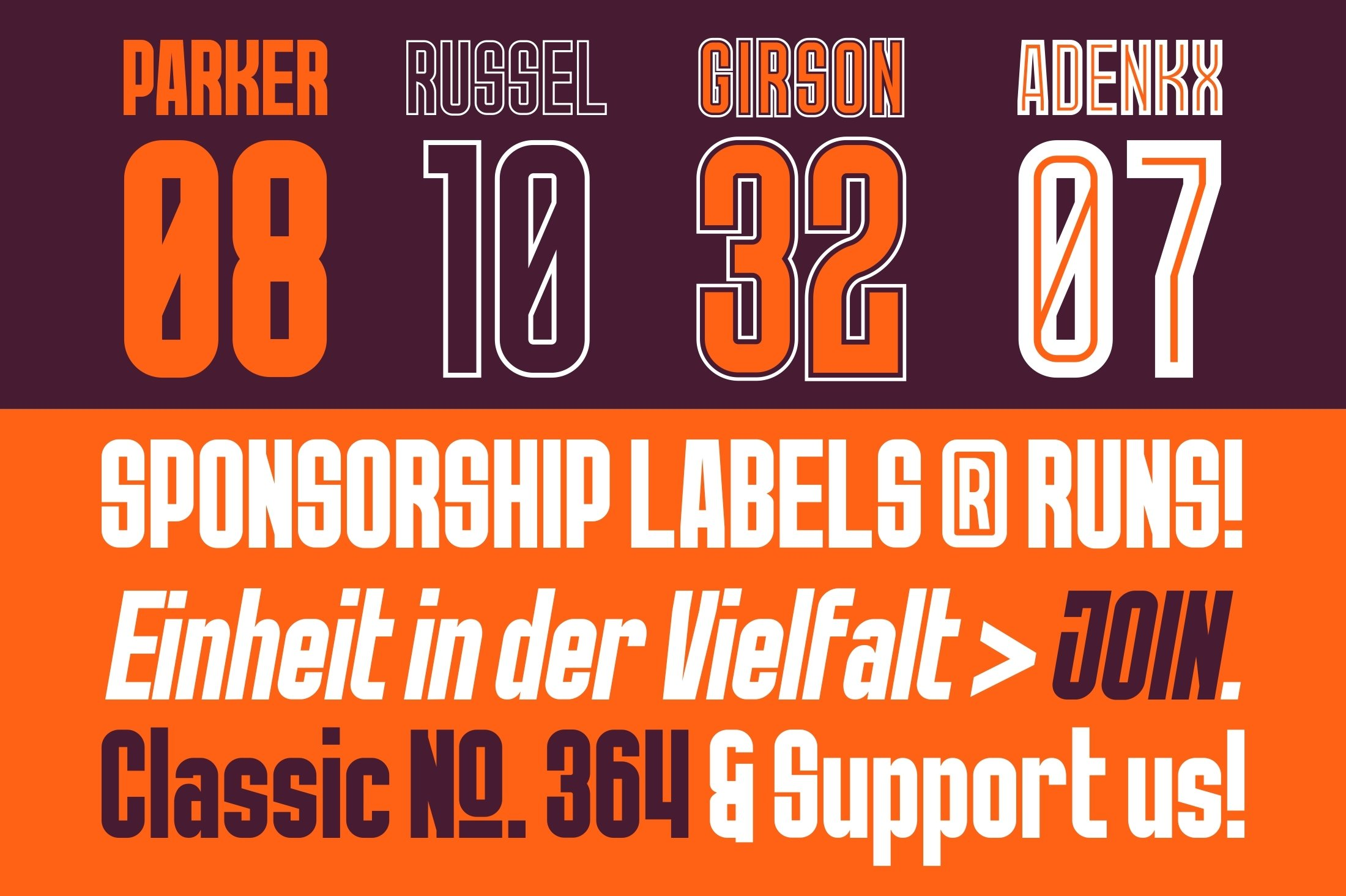 GR Norch - Sports Display Font example image 10