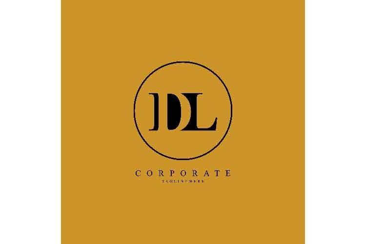 Dl Letter Logo Dl Initial Logo Corporate 2 737962 Logos Design Bundles