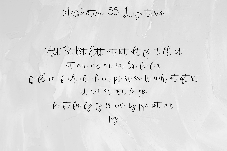 Attractive Modern Handwritten example image 5