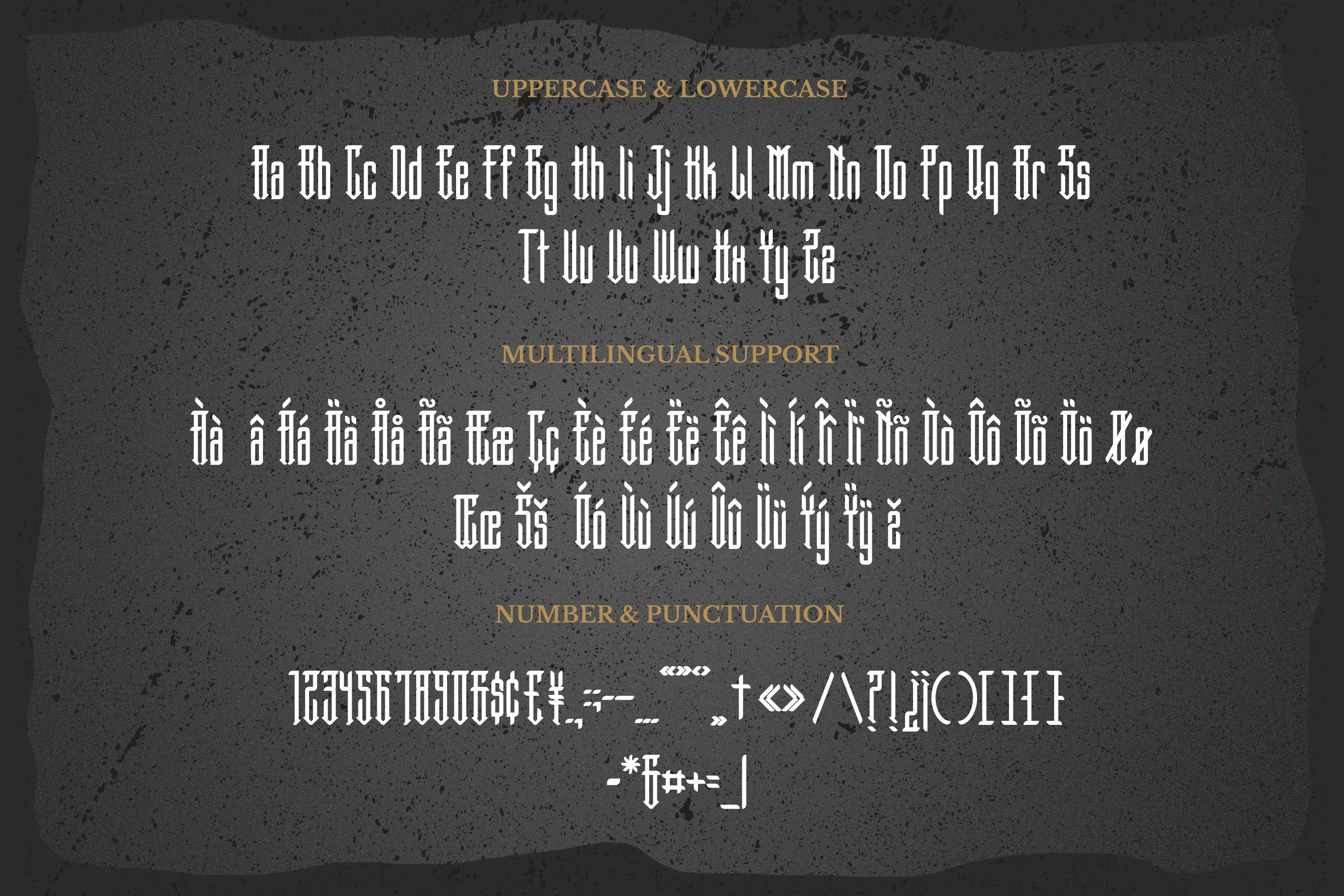 Gangster Font example image 5