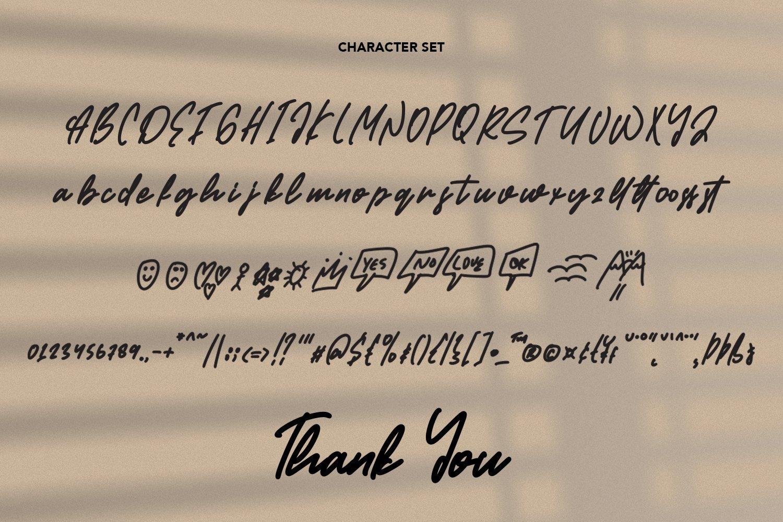 Attacher - Handwritten Font example image 5