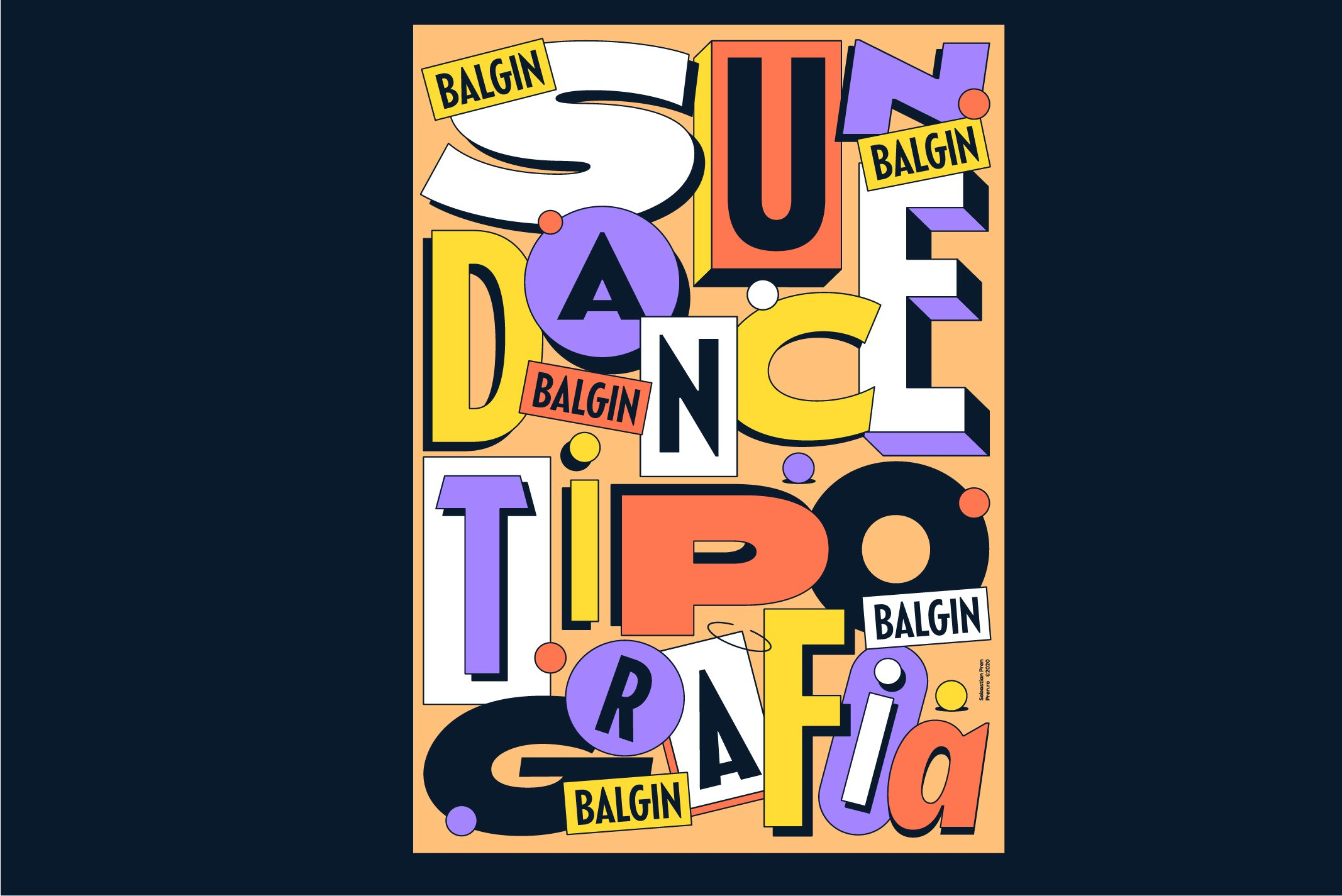 Balgin Font Family example image 20