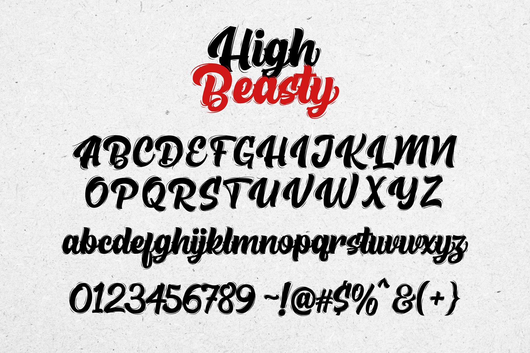High Beasty example image 7