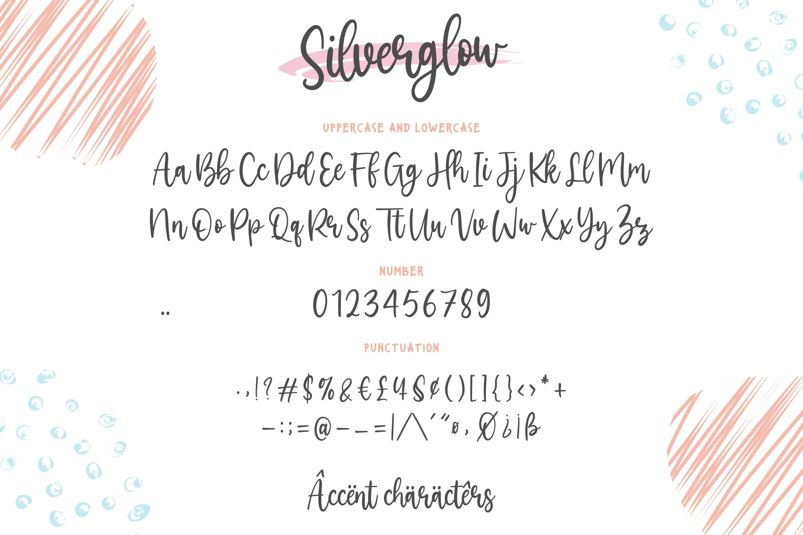 Silverglow Playful Modern Calligraphy Font example image 6