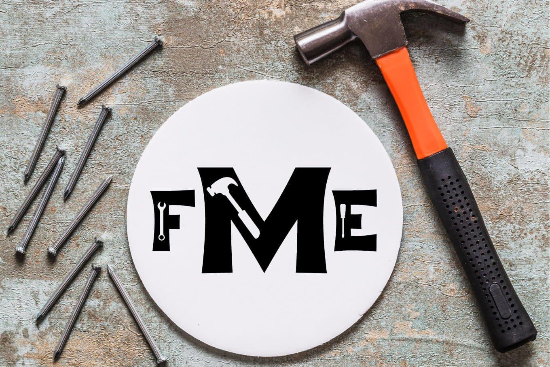 Repairman - a Fun Tool Font example image 11