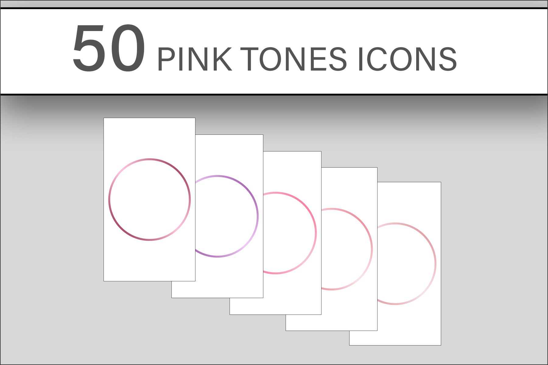 Pink Tones Instagram Highlights Icons example image 3