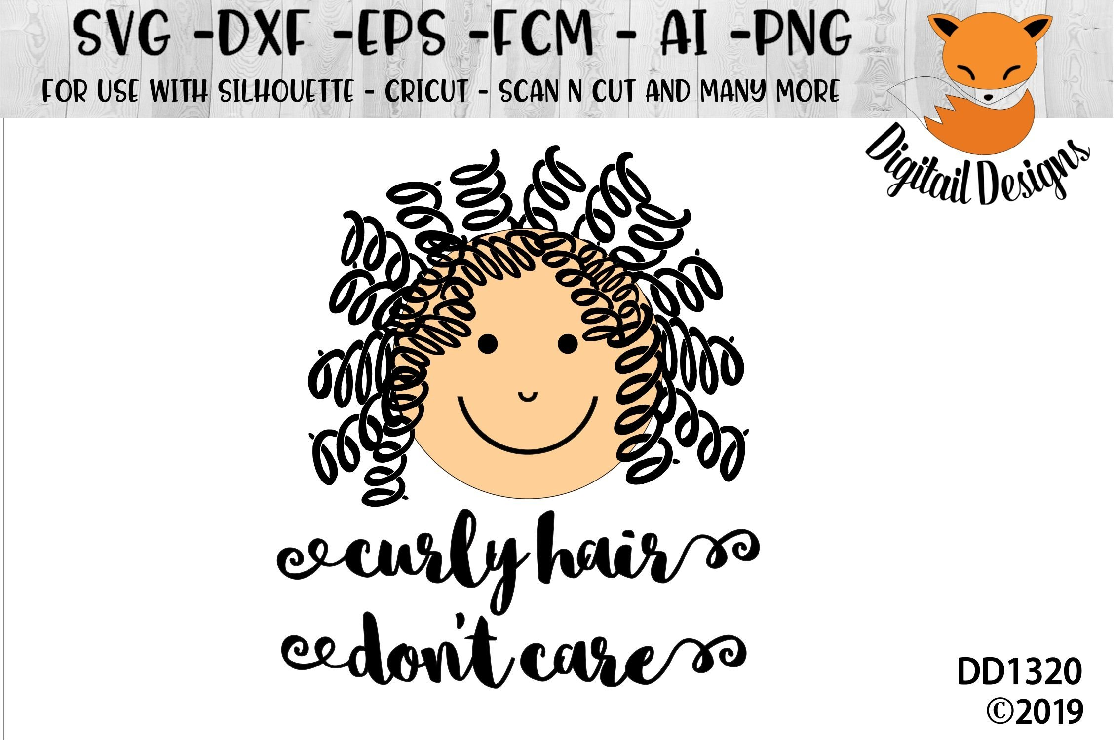 Curly Hair Don T Care Baby Svg 207665 Cut Files Design Bundles