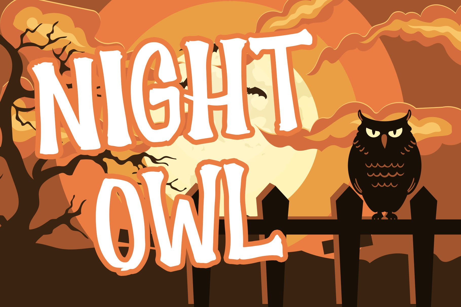 Scary House - Spooky Font example image 6