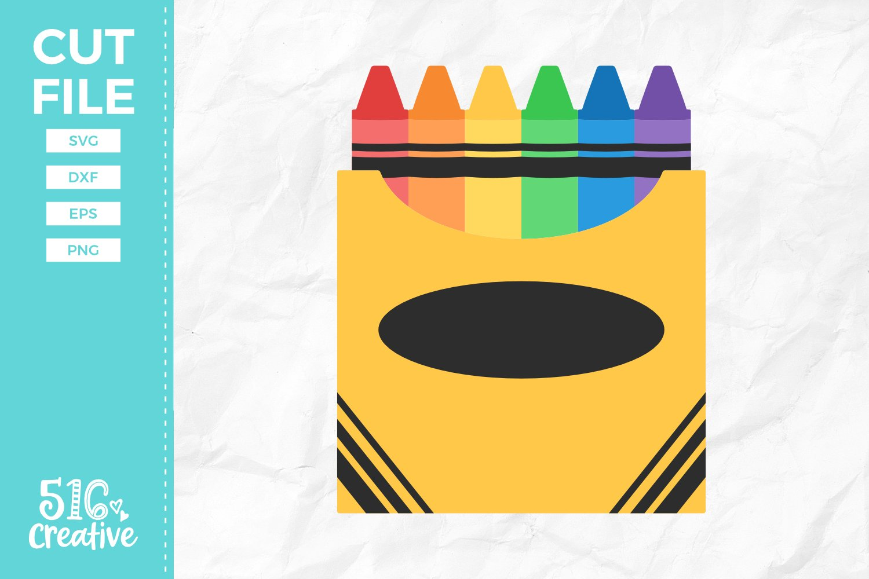 Box Of Crayons Svg Dxf Eps Png 121281 Svgs Design Bundles
