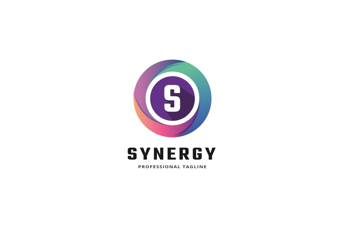 Synergy Letter S Logo example image 1