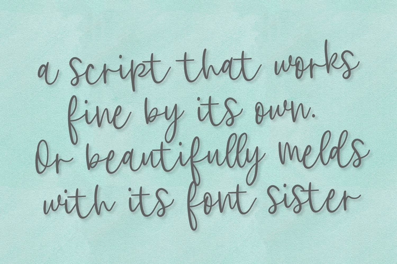 Clearly, Dearly - A lovely Script & San Serif font duo example image 3