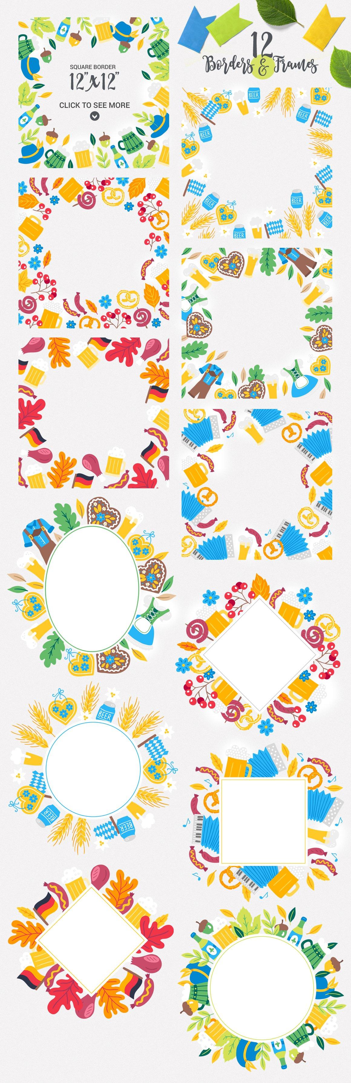 Download Oktoberfest Kit 315150 Illustrations Design Bundles