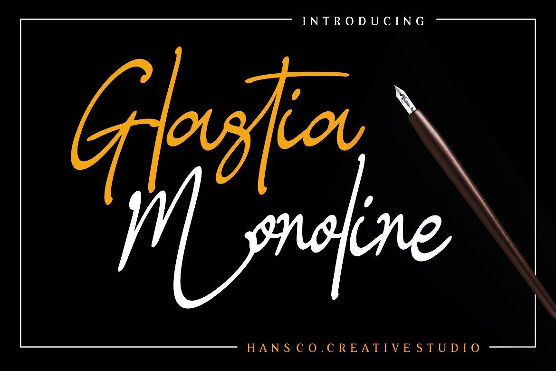 Glastia Monoline example image 1