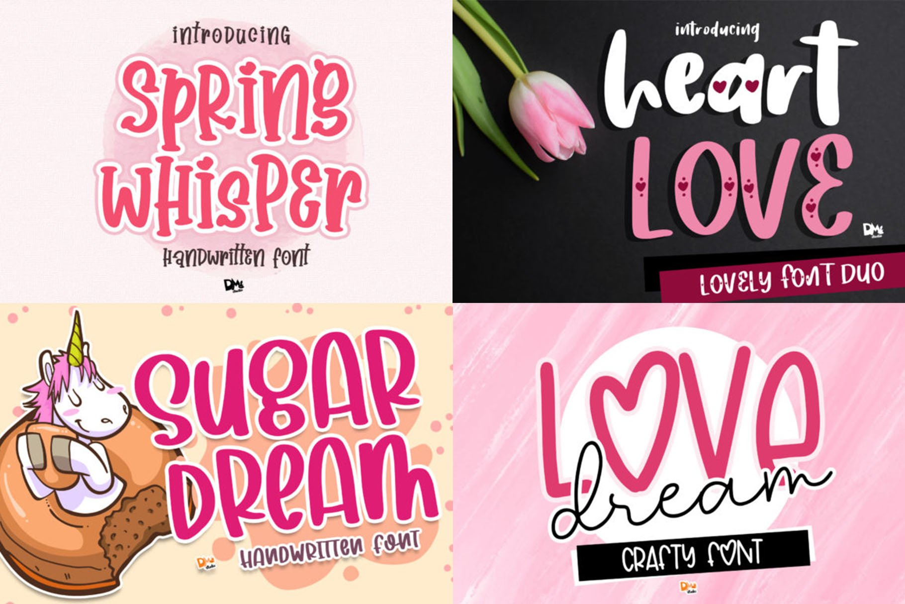 BIG BUNDLE - Seasonal Crafting Font Collection!! example image 4