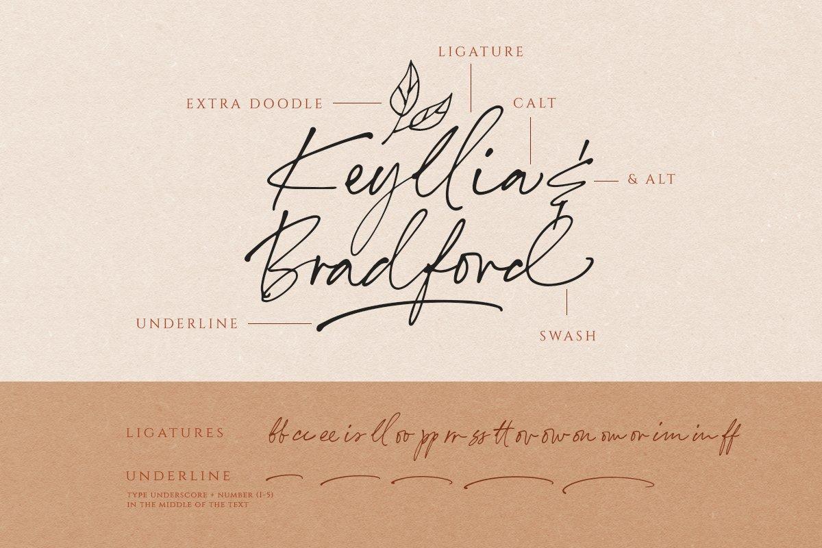 Annette Bradford - Ballpoint Script example image 9