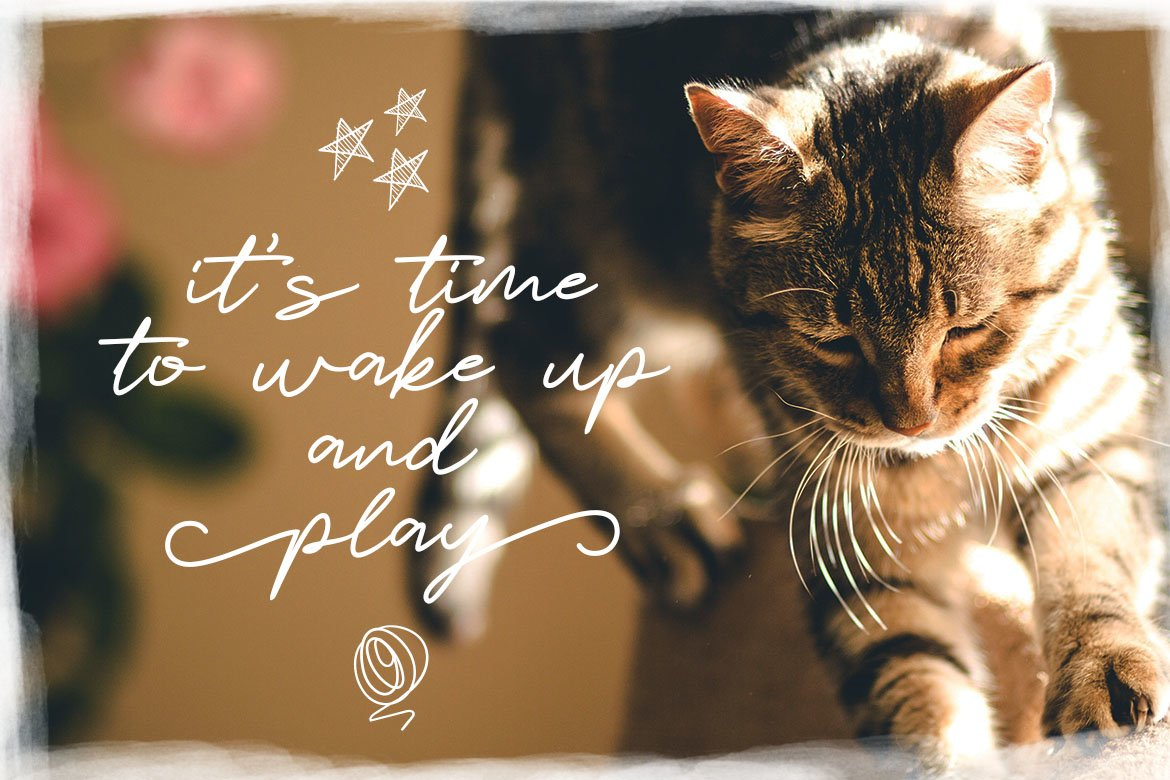 Catlove Lovely Font example image 2