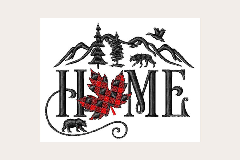 Canada Home Machine Embroidery Design 435440 Embroidery Design Bundles