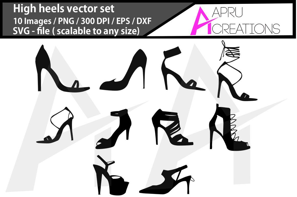 High Heels Bundle High Heels Svg Vector 775959 Illustrations Design Bundles