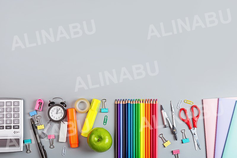 Back to School background with copy space example image 1