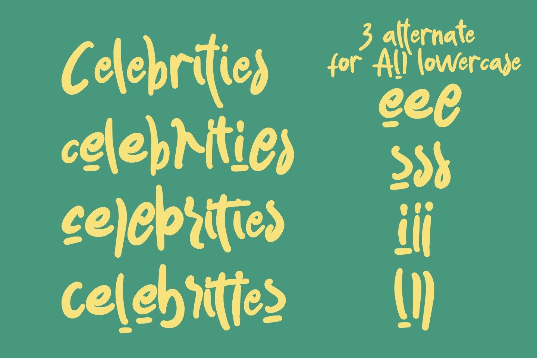Akwokwok Playful Font example image 8