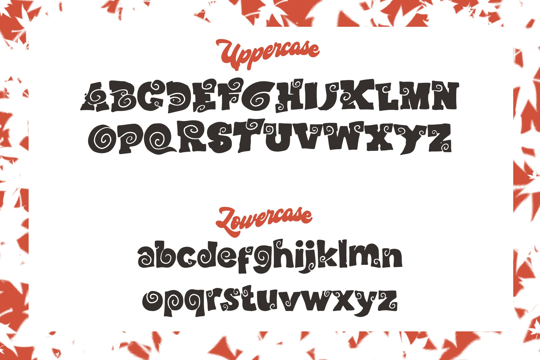 Wood Craft - Handmade Display Font example image 6