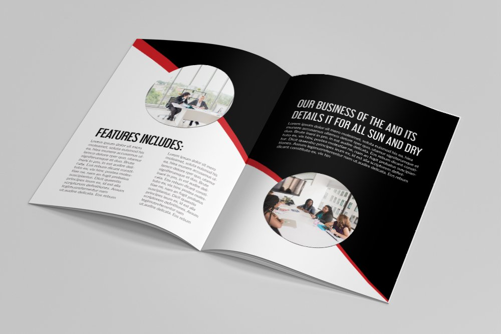 Business Corporate Bifold Brochure 16 Pages example image 8