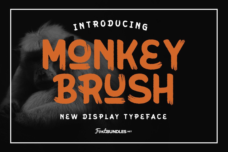 Monkey Brush example image 1