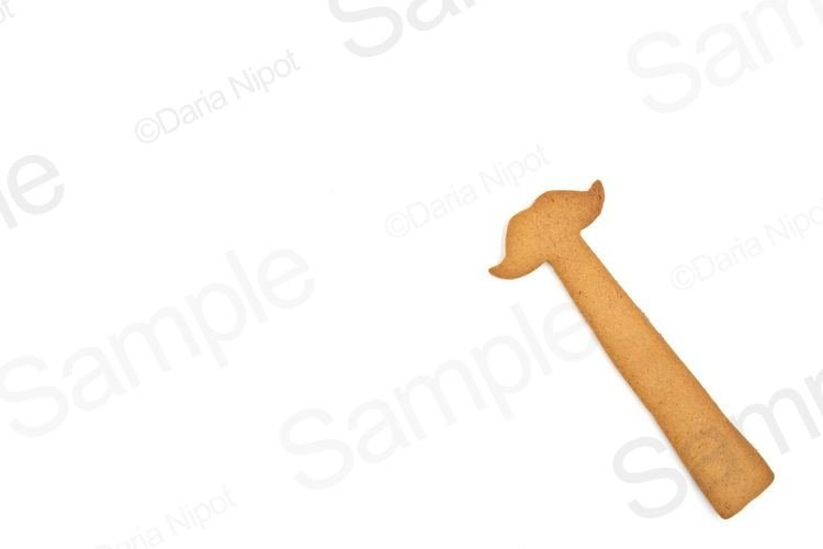 Homemade gingerbread cookie example image 1