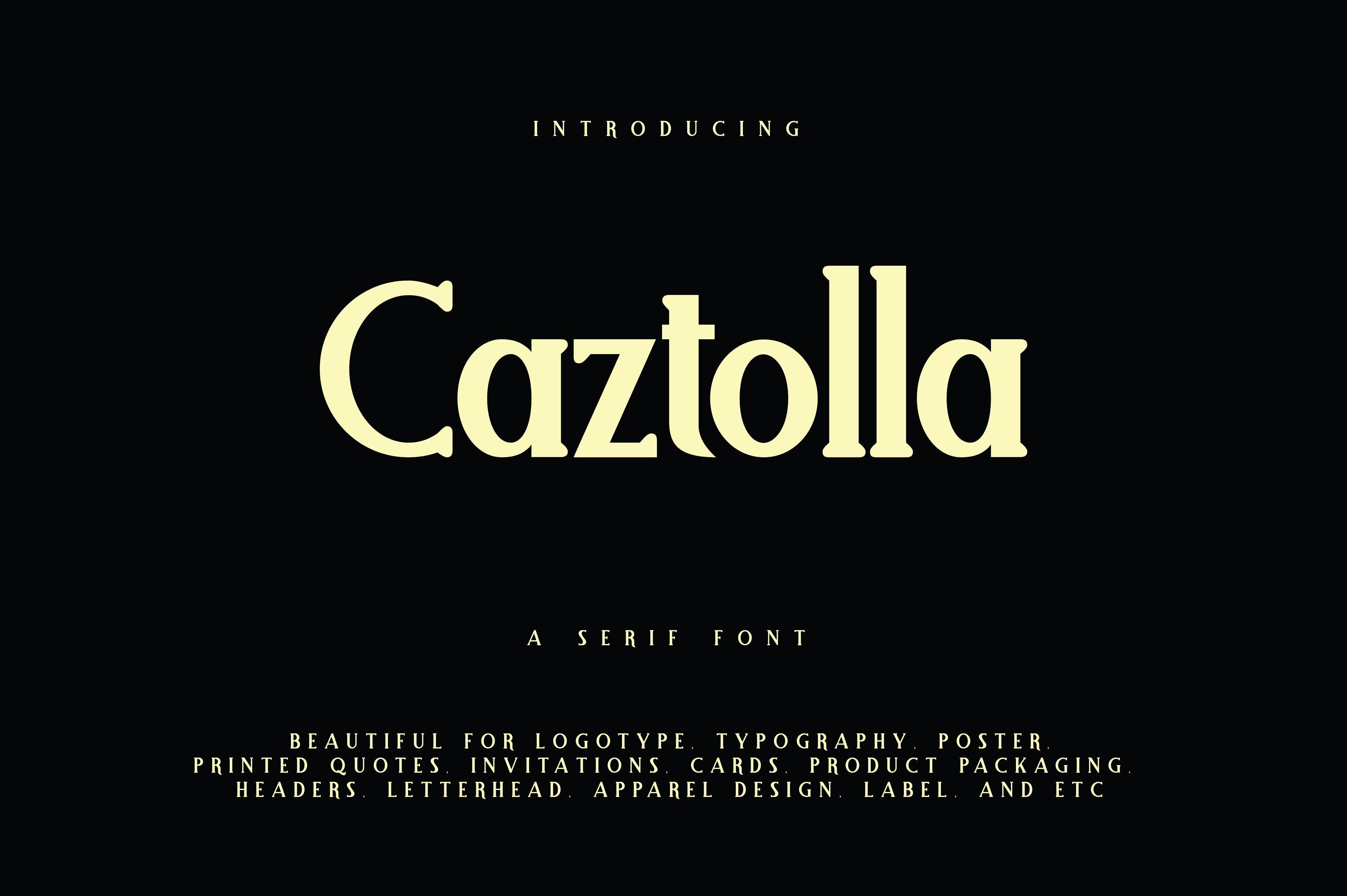 Caztolla example image 1
