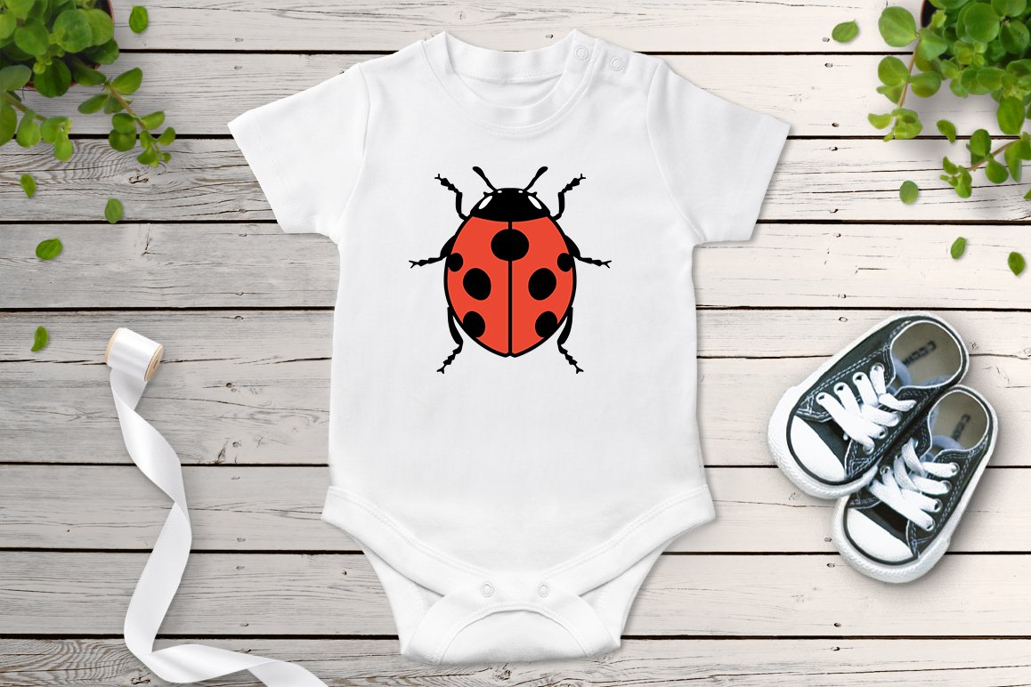 Insects Bundle SVG Cut Files, Insect Clipart, Bugs SVG. example image 4