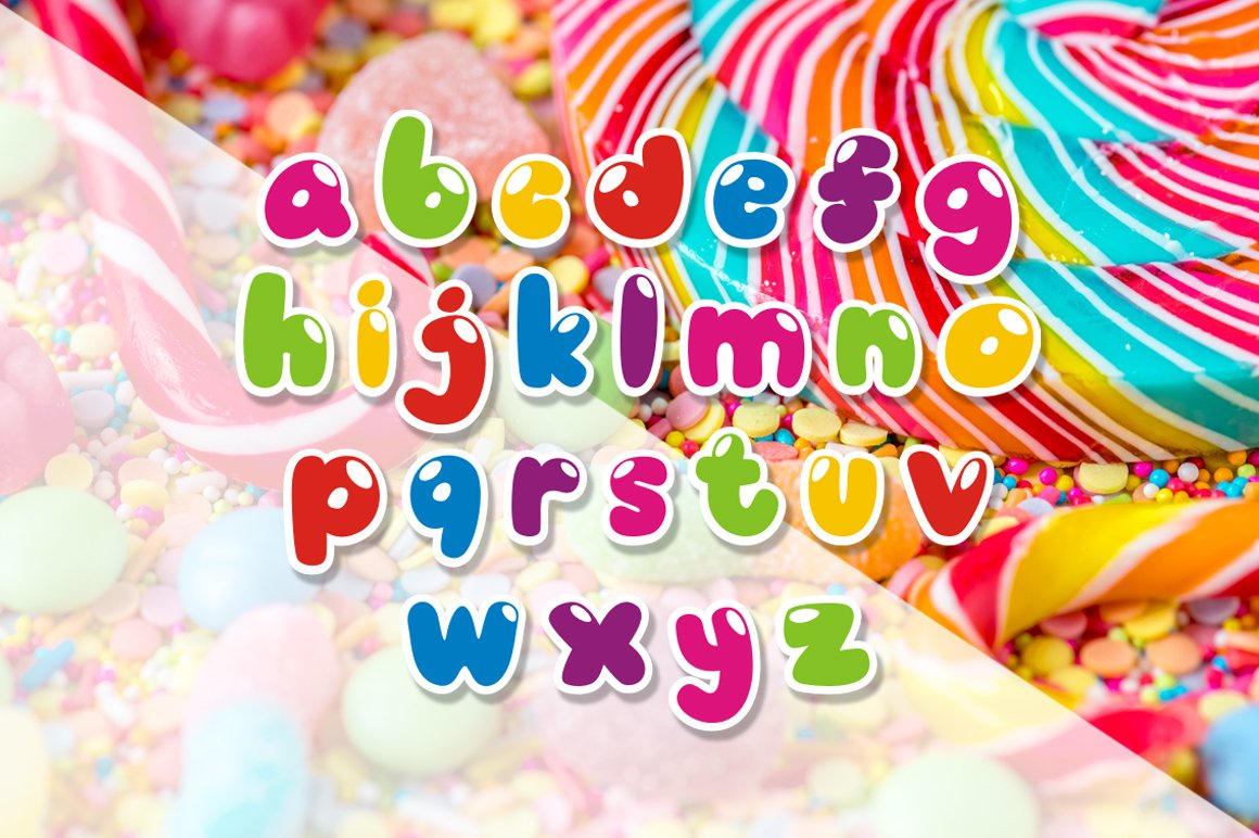 Candyshop - Playful Fonts example image 3