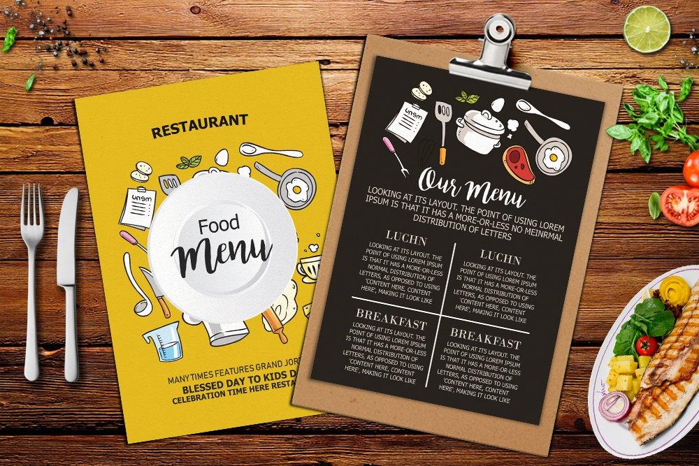 Restaurant Food Menu example image 3