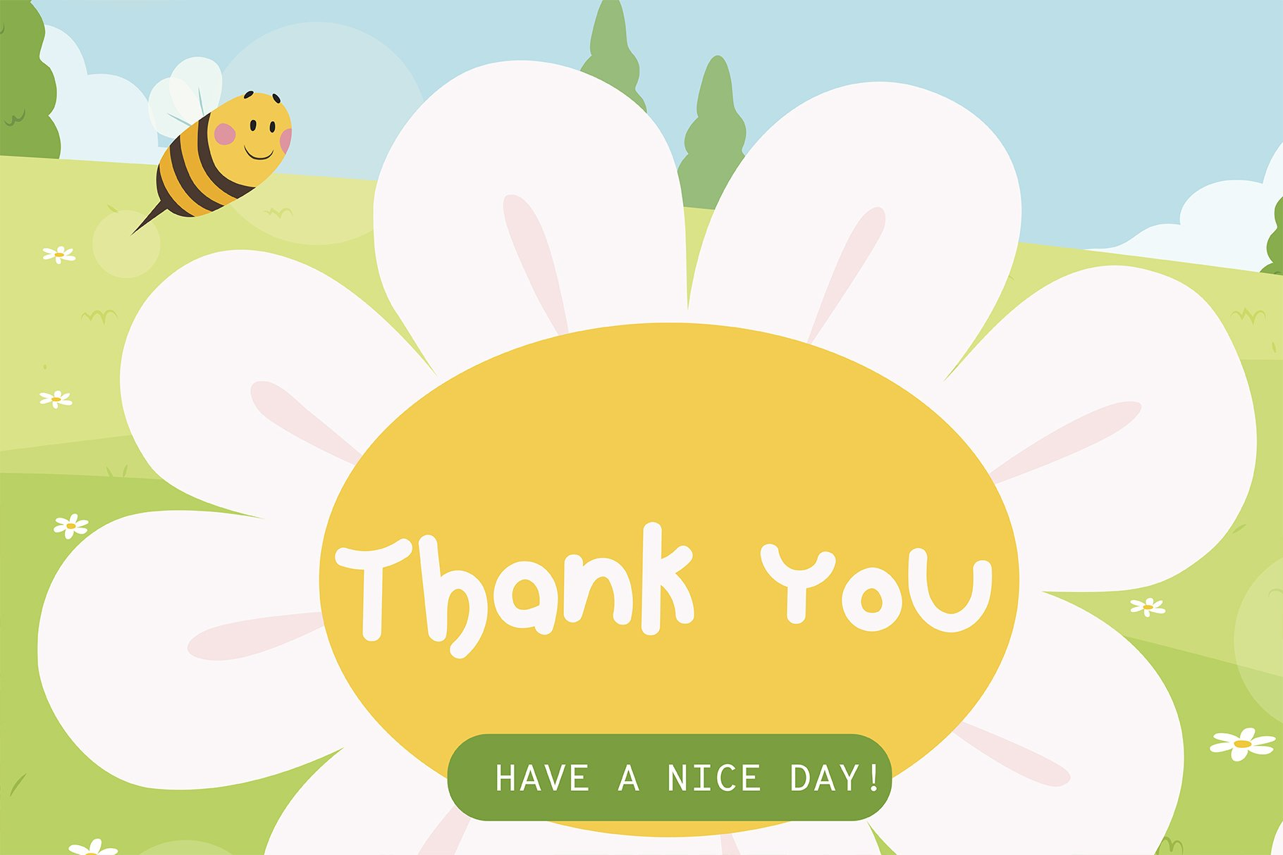 Hello spring Handwritten- Cute Baby font Kawaii style! example image 6