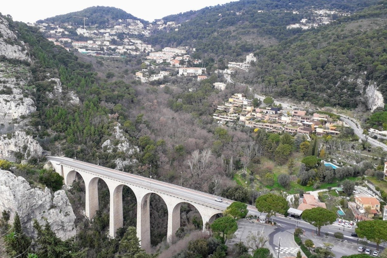 Bridge Photos Mountains in Eze France example image 1