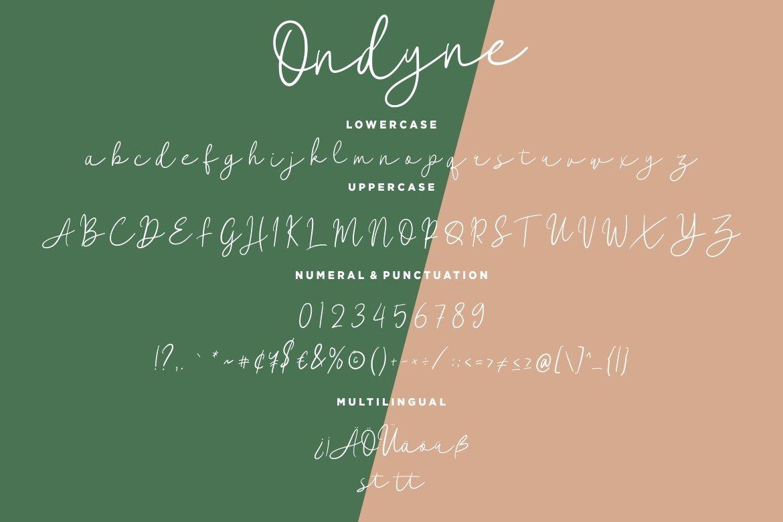 Ondyne Stylish Signature example image 2