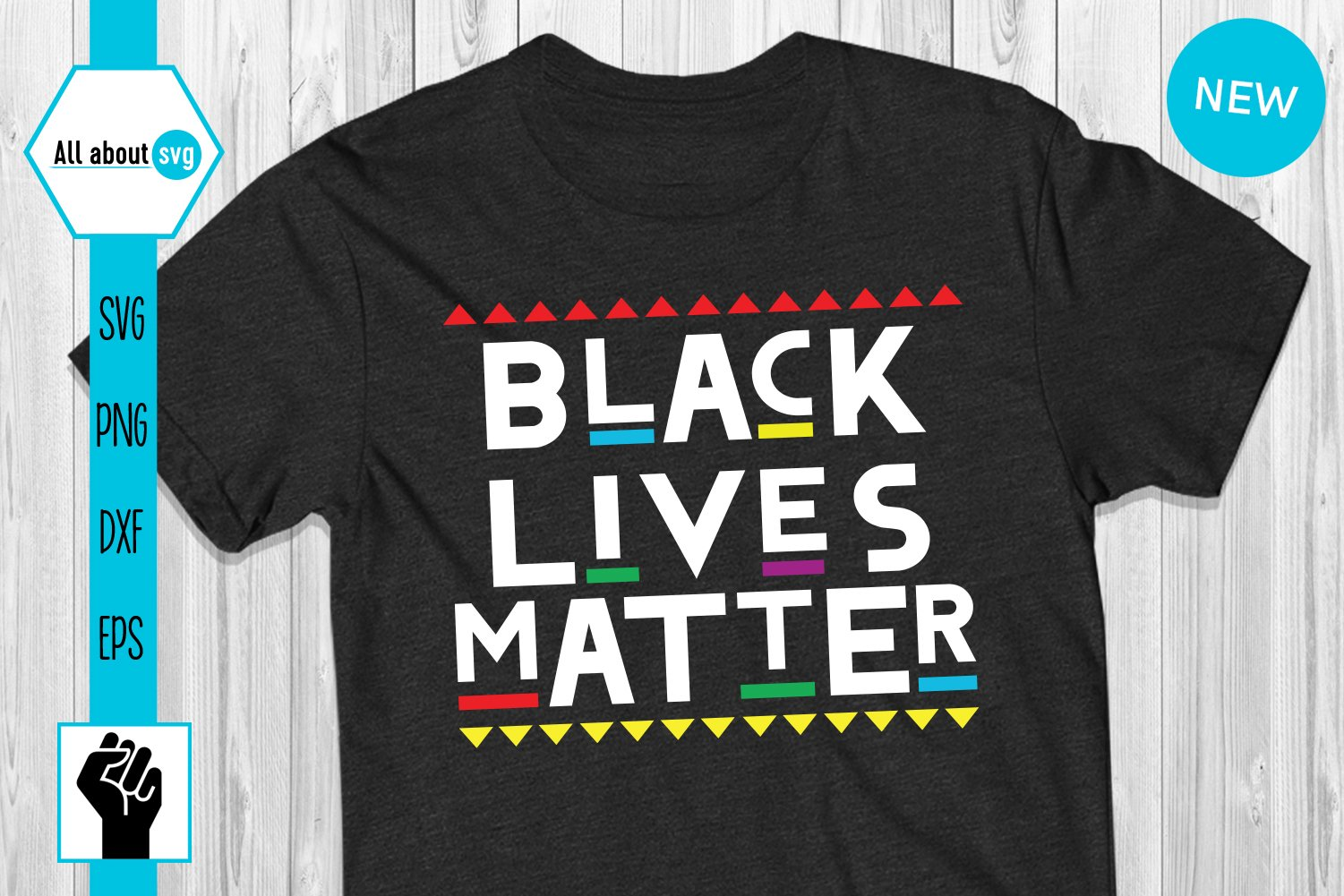 Black Lives Matter Svg, Black Lives Protest Svg example image 3
