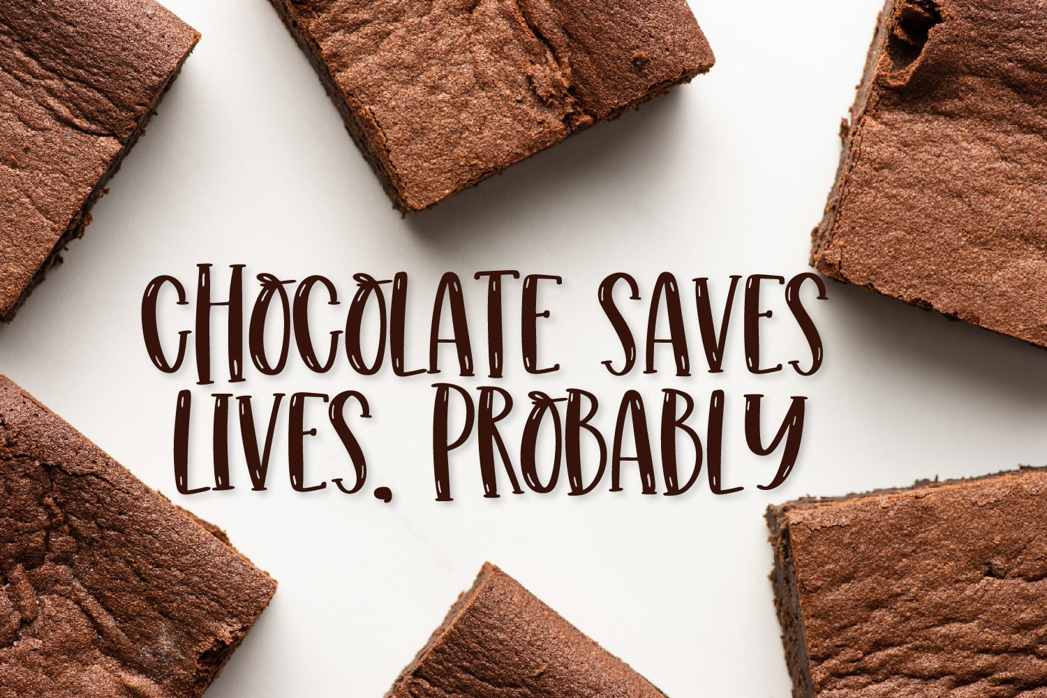 Chewy Brownies - A Serif With Highlights example image 4