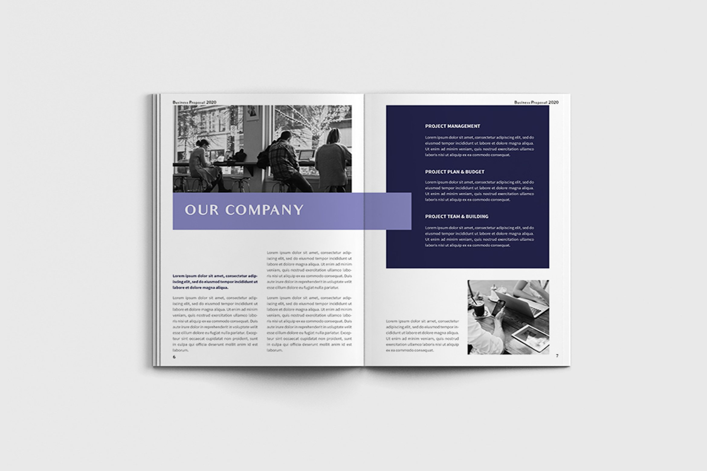 Exposina - A4 Business Brochure Template example image 10