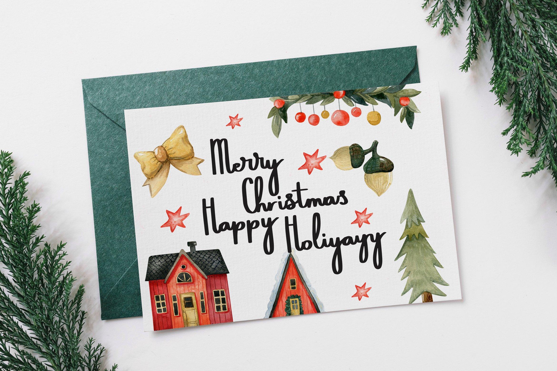 Sweets Holiyayy - Christmas Font example image 4