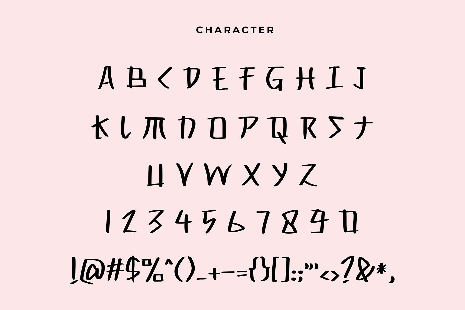 Yahiko Playful Handwritten Font example image 6