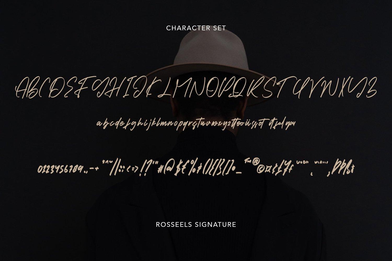 RosseelsSignature - Elegant Signature Font example image 4